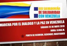 Red SAlvadoreña de Solidaridad con Venezuelaa