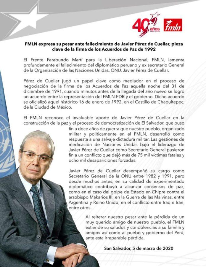 Prensa FMLN Oficial