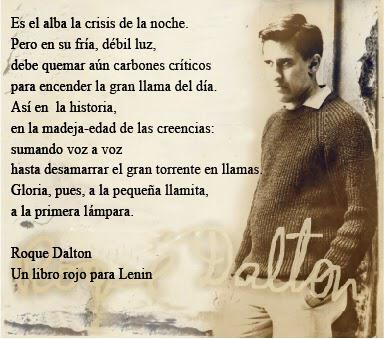 84 aniversario del natalicio de Roque Dalton